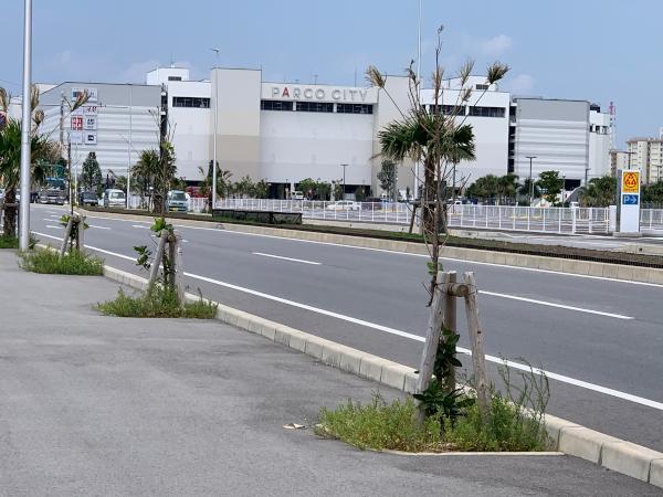 沖縄サンエーパルコシティの店舗やアクセスは?初出店を調べてみた西海岸道路