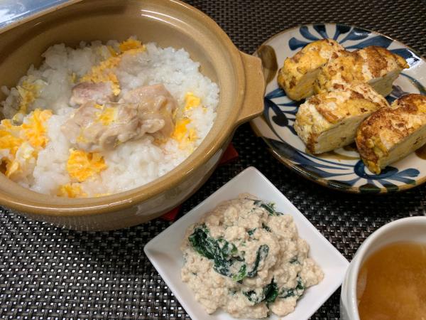 きのう何食べた?7話レシピを作ってみた!雑炊/白和え/卵焼き