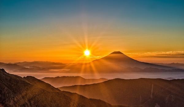 ダイヤモンド富士2020が都内で見える場所は?おすすめ日や時間も!