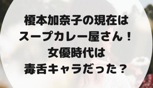 榎本加奈子の現在の職業はスープカレー屋さん!女優時代は毒舌キャラ